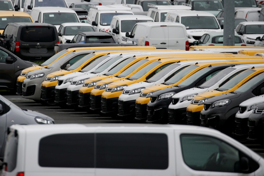 French Finance Minister Bruno Le Maire said he will meet the heads of French carmakers Renault and PSA on Wednesday to discuss how to help the sector, as production ground to a standstill in Europe due to the coronavirus. -- Reuters photo