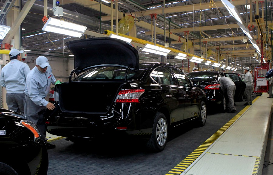 Some of Mexico's auto factories may have to suspend production in the coming weeks as the coronavirus outbreak disrupts shipments of key parts from China, according to local officials, in what would be another blow to the stagnant Mexican economy. -- Reuters photo