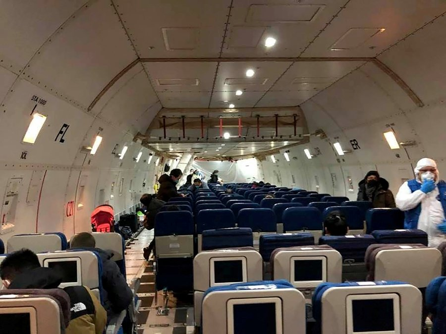 Canadian evacuation flight won't leave for Wuhan until Thurs. night""