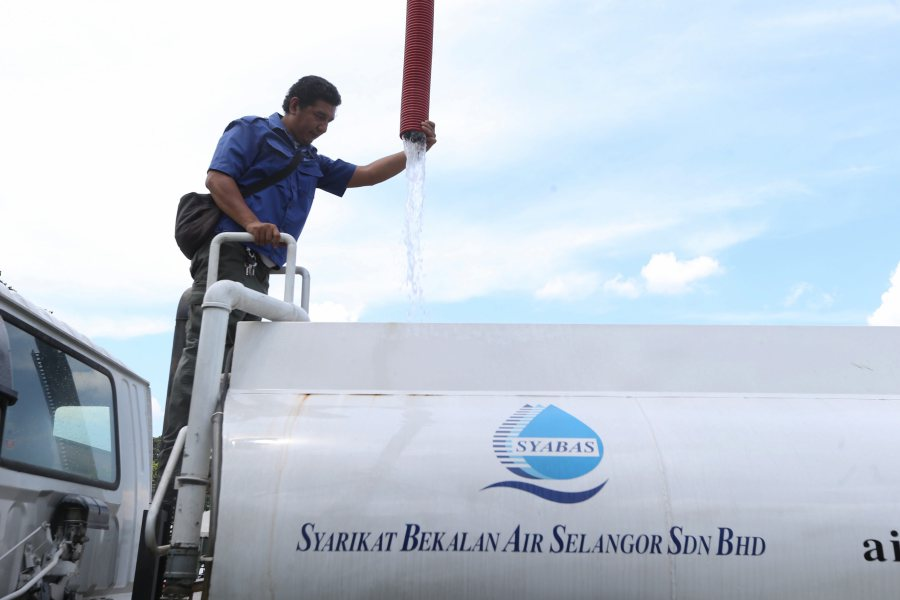 Water Disruption The Next Three Days In 43 Residential Areas In KL And Selangor