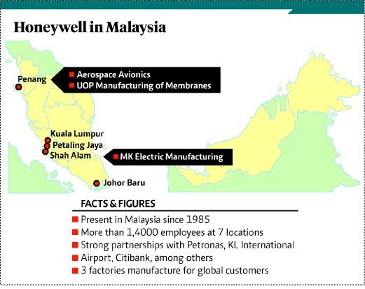 Honeywell set to expand operations in Malaysia | New Straits Times