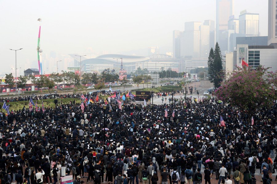 Hong Kong protesters plan major rally on Jan 1