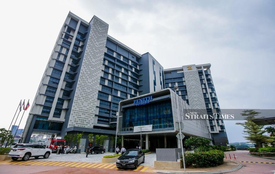 The newly-opened Zenith Putrajaya is strategically located to cater to meetings and seminars organised by government departments and ministries nearby. NSTP photo by LUQMAN HAKIM ZUBIR