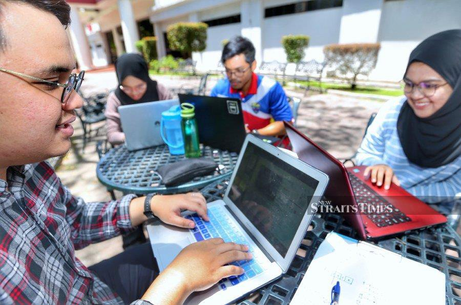 University students are expected to return to their respective campuses as early as March next year. - NSTP file pic, for illustration purposes only
