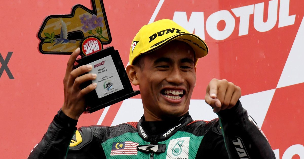 Hafizh to face his demons at Australian GP Moto2 on Friday