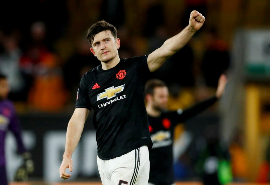 Manchester United's Harry Maguire has recovered from his injury and sis expected to play against Norwich. -Reuters