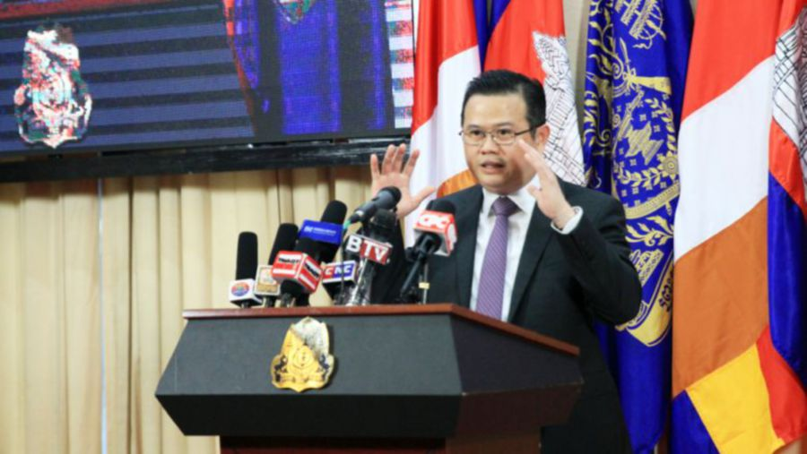 The ministry's General Department of Budget director general Hav Ratanak said that the government had already raised the US$3 billion to mitigate any shock from a possible withdrawal. -Photo taken from phnompenhpost