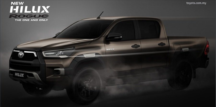 2020 Hilux Rogue Now Open For Booking
