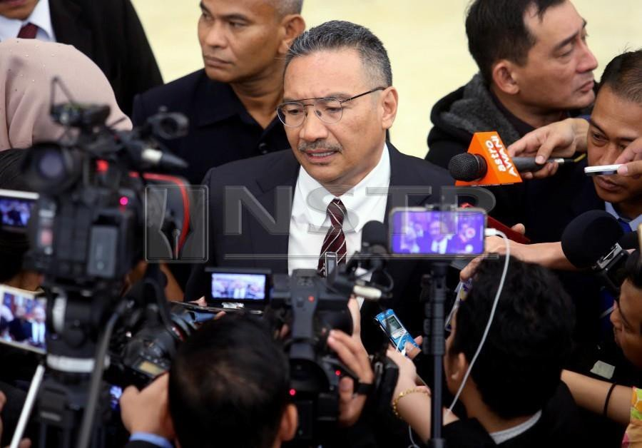 (File pix) Hishammuddin said the committee would be able to call all the relevant agencies for a clearer picture on the deployment of Malaysian troops under the operation. NSTP/ Mohd Yusni Ariffin