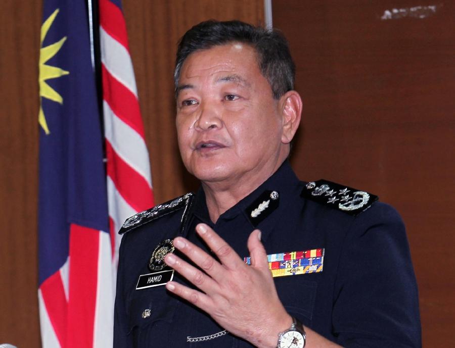 Inspector General of Police Tan Sri Abdul Hamid Bador. - NSTP/SAIFULLIZAN TAMADI