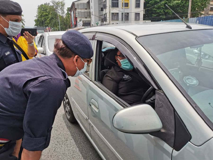 Perak police chief Datuk Razarudin Husain said such an approach need to be taken need. -Pic by Perak PDRM