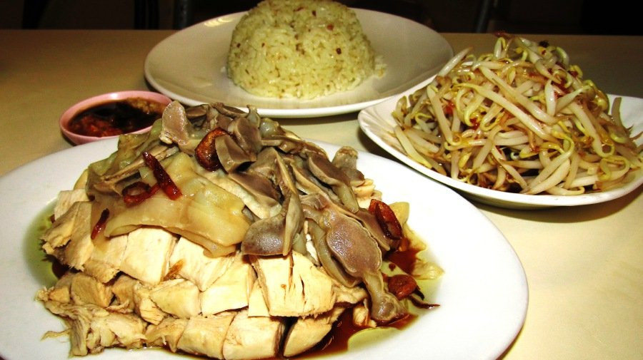 Singapore: Hainanese Chicken Rice