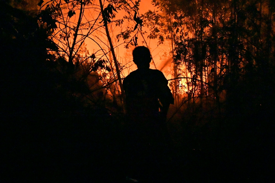 Kuala Lumpur Kepong Bhd (KLK) today said it will cooperate with the Indonesian authorities in the investigation into forest fires on the estates owned by subsidiary, P.T. Adei Plantation and Industry (P.T. Adei). - (Photo by ADEK BERRY / AFP)