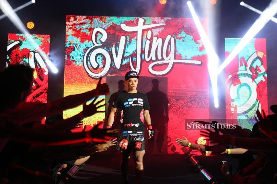 Ev 'E.T.' Ting is back. Picture courtesy of ONE Championship.