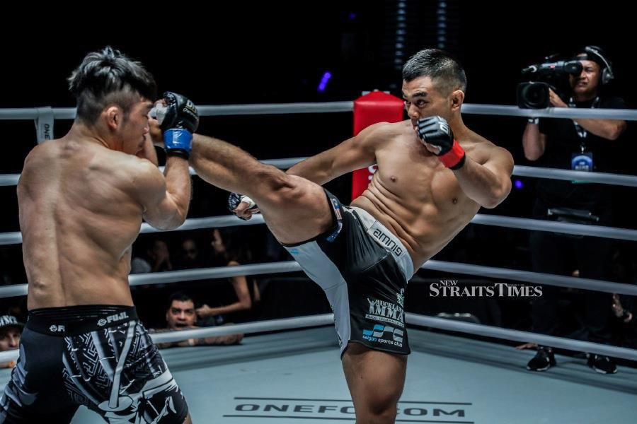 The Auckland-based Ting is hungry for another victory. Picture courtesy of ONE Championship.