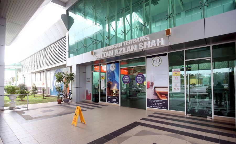 The existing Sultan Azlan Shah Airport in Ipoh cannot be extended any further due to limited land in the area. (NST File Pix)