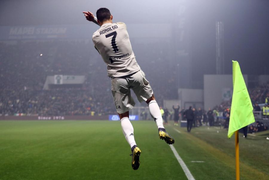Cristiano Ronaldo, el pilar de la Juventus de Turín