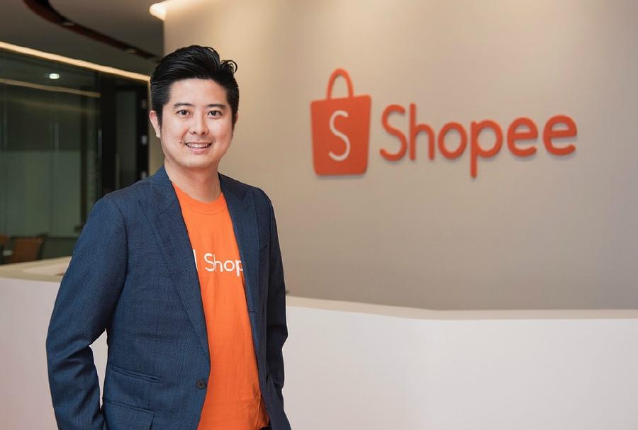 Shopee's regional managing director, Ion Ho.