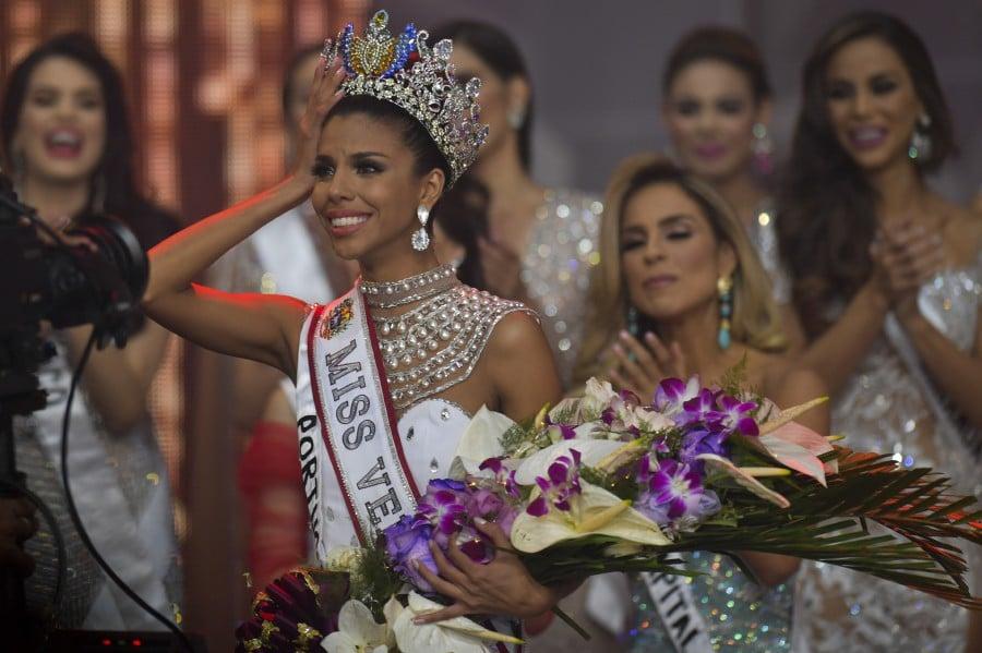 Beauty queen from slum is crowned Miss Venezuela   New
