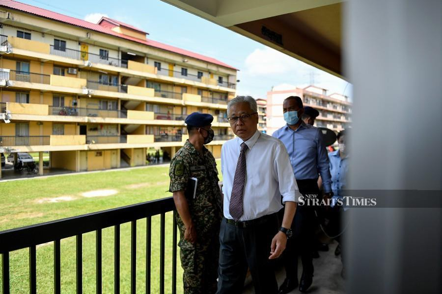 Ismail Sabri Border Control Continues To Be Intensified