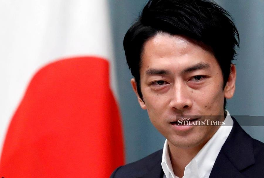 Japan political star Shinjiro Koizumi has baby boy, his 1st child