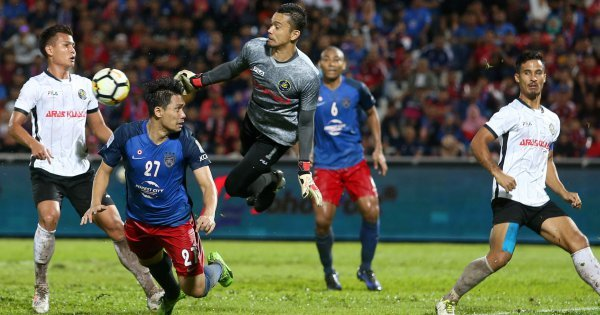 Longhi: JDT punished for slipping up