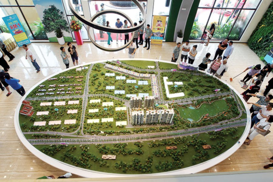 Country Garden Central Park Set To Be A Hit New Straits