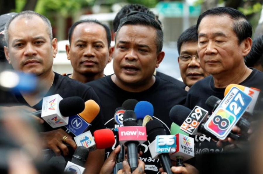 Leader of Thailand's 'Red Shirts' Movement Jailed for Defamation