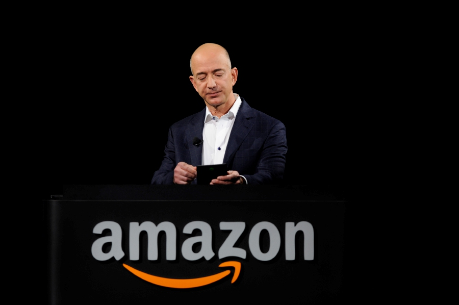 Amazon CEO Jeff Bezos is expected to participate in an Amazon event in capital New Delhi aimed at connecting with small and medium-sized enterprises. -Reuters