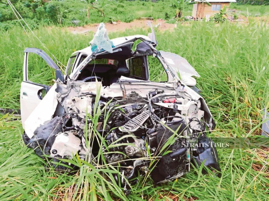 Twenty people were killed in road accidents on the first day of Aidilfitri yesterday, just eight days into Op Selamat 15. Pic by NSTP/Courtesy of JBPM