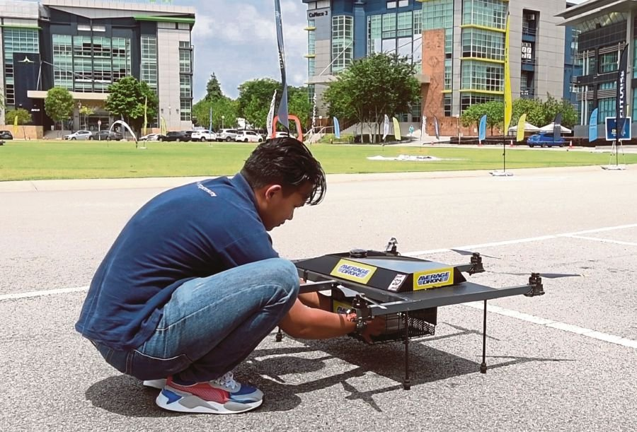 Food delivery via drones in Cyberjaya by end of the month