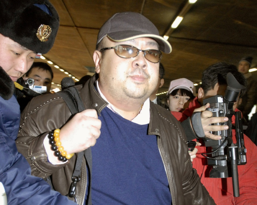 (File pix) Kim Jong Nam arrives at Beijing airport in Beijing, China, in this photo taken by Kyodo February 11, 2007. The assasination of Kim Jong-nam, the estranged half-brother of North Korean leader Kim Jong-un, has undoubtedly put a strain on diplomatic relations between Malaysia and North Korea, a situation that entails careful negotiations to achieve successful outcome. Reuters Photo