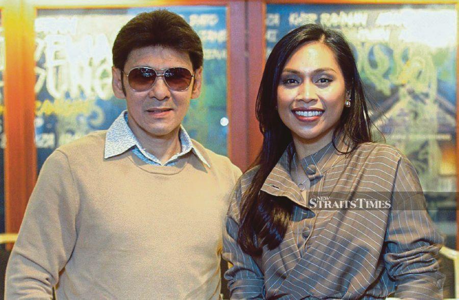 Datuk Jamal Abdillah and Dayang Nurfaizah are scheduled to perform at Istana Budaya on Apr 11. NSTP/FATHIL ASRI.