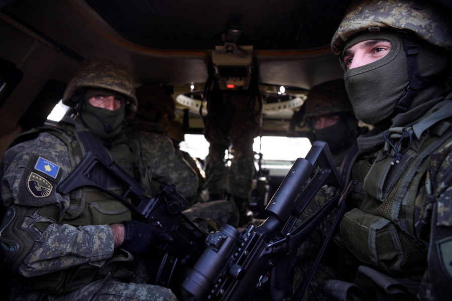 NATO-led troops on the move in northern Kosovo | New Straits