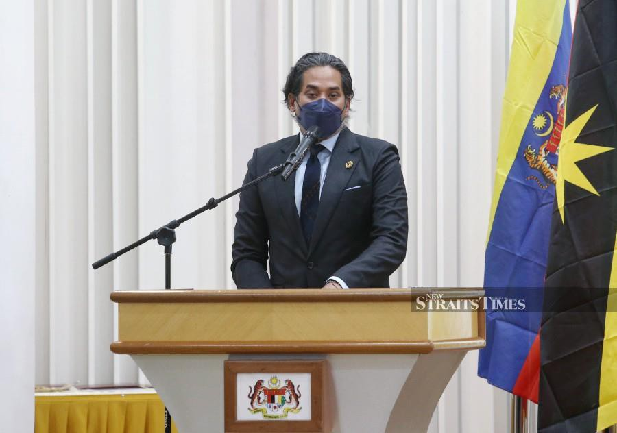 Health Minister Khairy Jamaluddin is leading a Malaysian delegation to the 72nd World Health Organisation Western Pacific Region Committee Meeting (WPRCM) in Himeji, Japan scheduled for tomorrow until Oct 29. - NSTP/EIZAIRI SHAMSUDIN