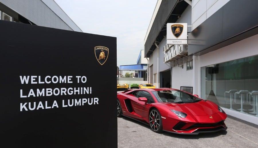 Lamborghini Opens New Rm3 Million Showroom In Glenmarie New