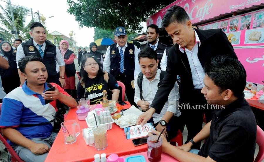 State health director Dr Zaini Hussin said the affected districts were Kota Baru, Tumpat, Bachok and Tanah Merah. NSTP/SYAMSI SUHAIMI