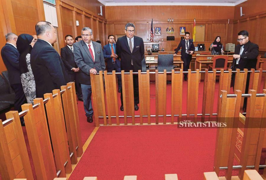 Courts to undergo facelift and have better facilities within two years