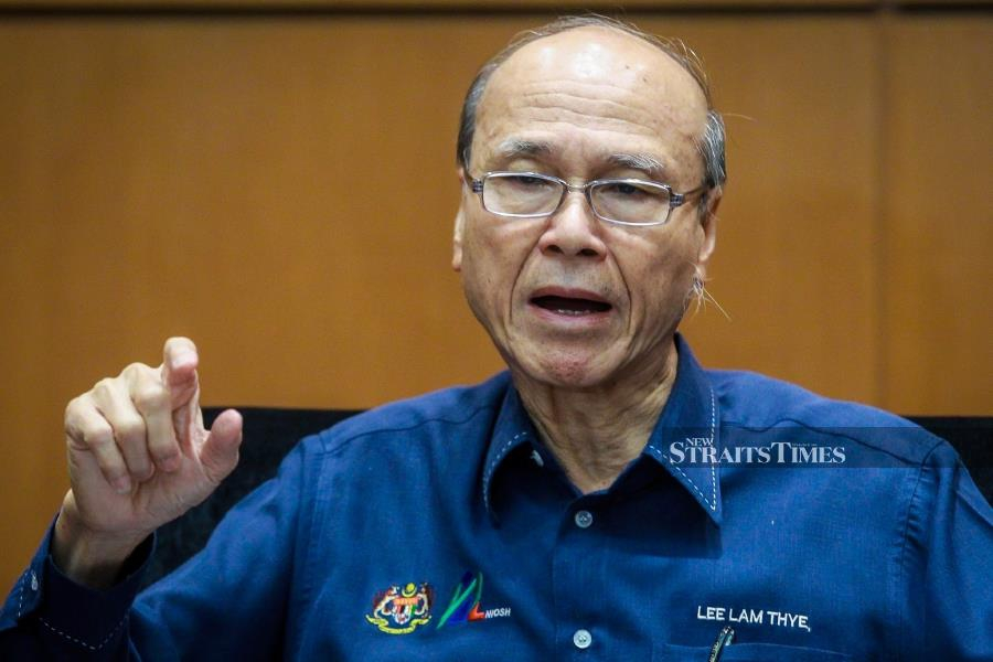 Animal welfare activist Tan Sri Lee Lam Thye also said it was understandable that the proposed drastic action of a shoot-to-kill order against poachers was justified. - NSTP/ASYRAF HAMZAH