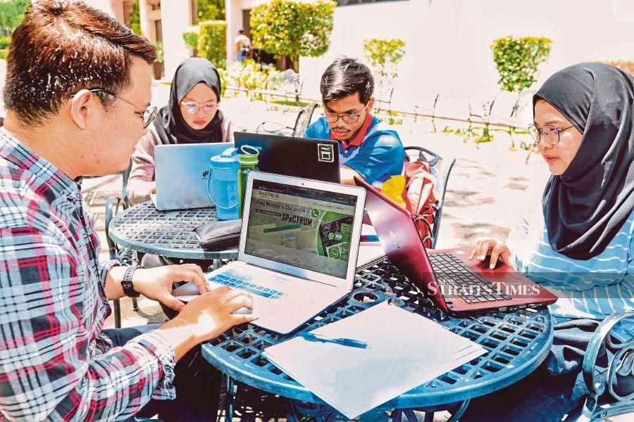Campuses of the future may resemble Apple Stores. - NSTP file pic, for illustration purposes only