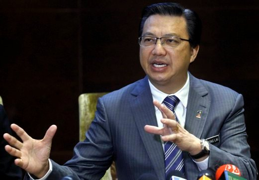 (File pix) MCA president Datuk Seri Liow Tiong Lai said cultural diversity is a national strength that will make Malaysia more competitive on the international stage.Pix by Muhd Asraf Sawal