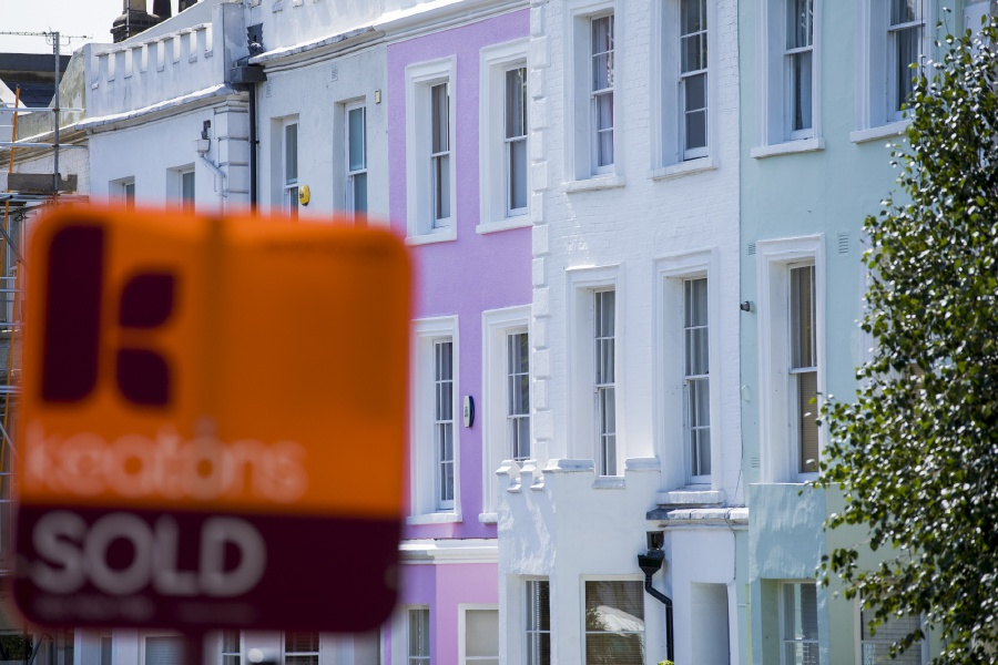 There is a surge in overseas buyers rushing to snap up homes in Britain before a new sales tax kicks in next year. Bloomberg pic