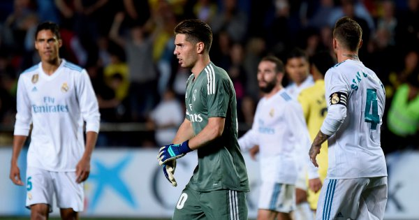 Rising son: Luca Zidane makes bow for Zinedine's Real