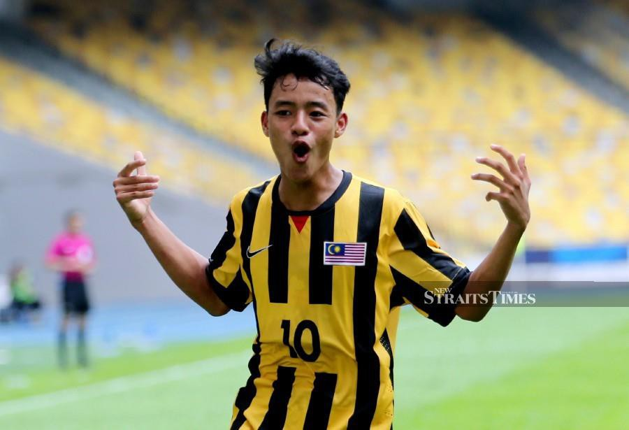When it was announced that national youth striker Luqman Hakim Shamsudin will be joining Belgian Division One A side KV Kortrijk on a five-year contract next year, many were sceptical and felt that it has much to do with the the club's owner being a Malaysian. -- NSTP/EIZAIRI SHAMSUDIN