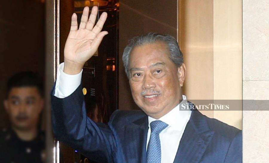 Prime Minister Tan Sri Muhyiddin Yassin is in charge of all federal ministries and departments until the appointment of new Cabinet ministers. -NSTP File pic