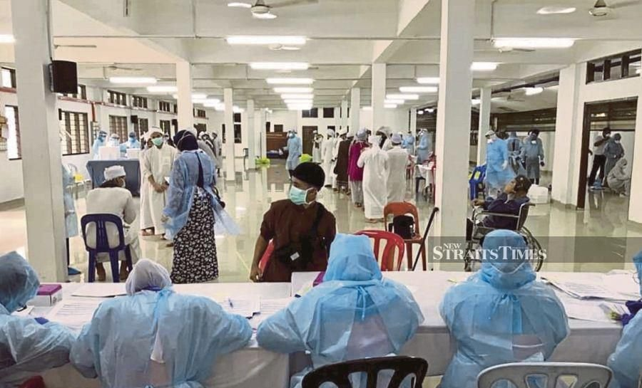 The Muslim gathering held at the end of last month at the sprawling Sri Petaling mosque complex here has emerged as a source of hundreds of new coronavirus infections spanning Southeast Asia. - NSTP pic