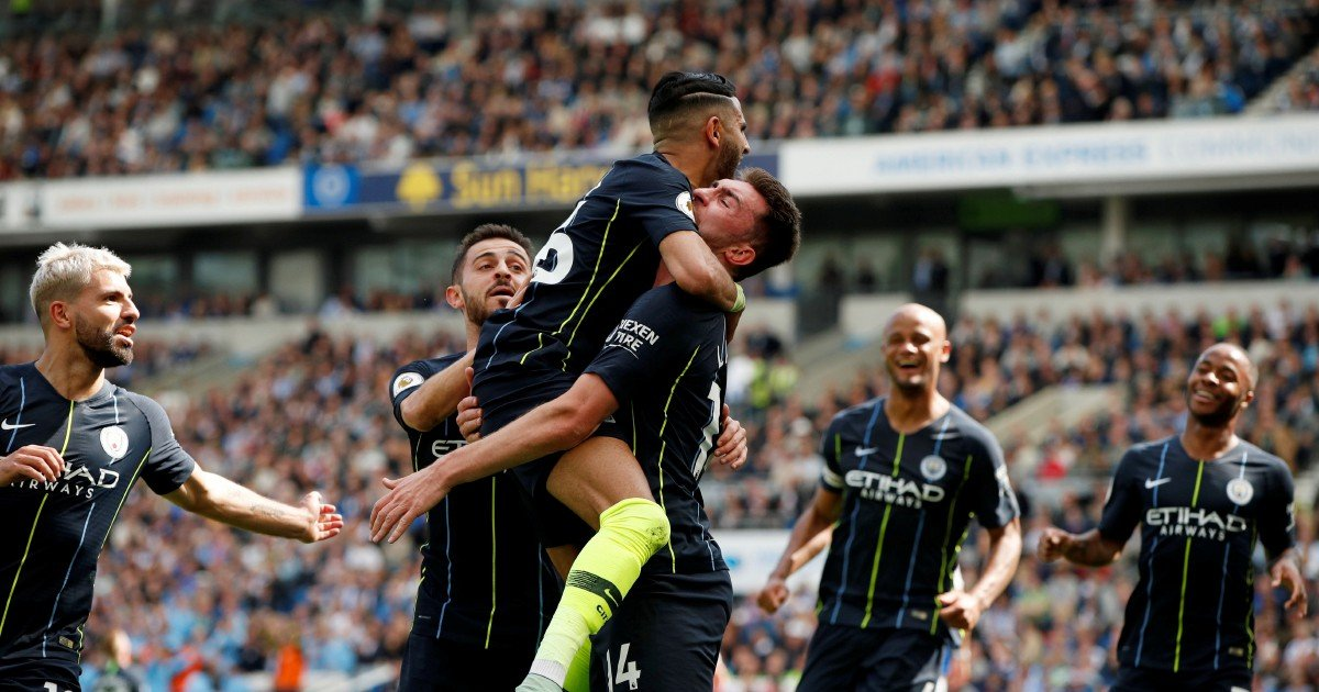Image result for Manchester City Retains Premier League Title