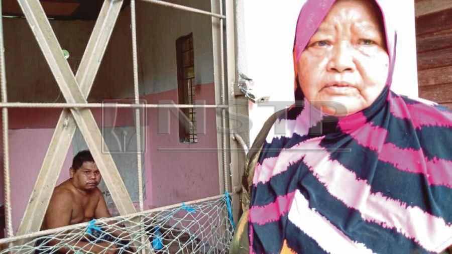 Chained No More A Mental Patient Receives New Home