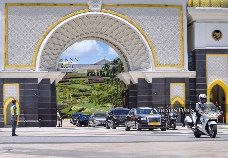 Istana Negara will be issuing a statement soon. - NSTP/ASWADI ALIAS