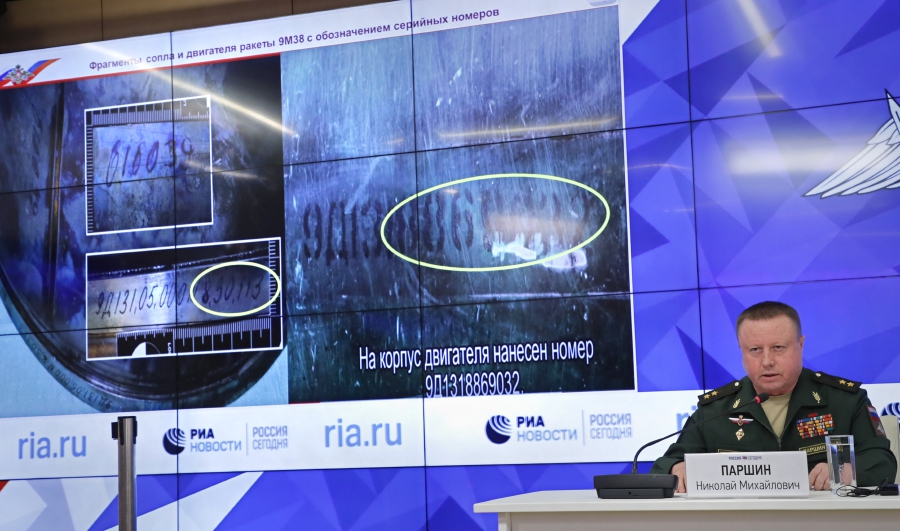 Russia claims fresh 'proof' Ukraine downed flight MH17 | New Straits
